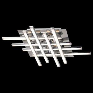 Потолочный светодиодный светильник Eurosvet 90020/8 хром настенный светодиодный светильник eurosvet хай тек 90020 1 хром