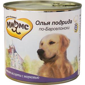 Консервы Мнямс Олья подрида по-Барселонски мясное ассорти с морковью для собак 600г томсон д прогулки по барселоне