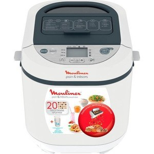 Хлебопечка Moulinex OW250132 moulinex ju450g white red
