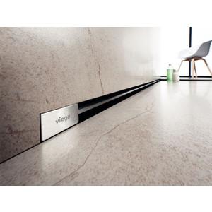 Фотография товара дизайн-решетка Viega Advantix Vario для душевого лотка в стену 30-120 см, хром глянцевый (736576) (666125)