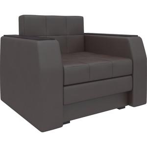 Кресло-кровать АртМебель Атлант эко-кожа коричневый кресло кровать классика коричневый page 8