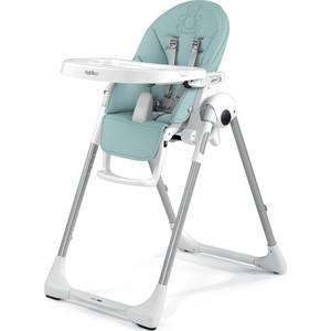 Стульчик для кормления Peg-Perego Prima Pappa Zero-3 Bear Azul, (пастель мята/эко-кожа) стульчик для кормления peg perego prima pappa zero 3 babydot beige