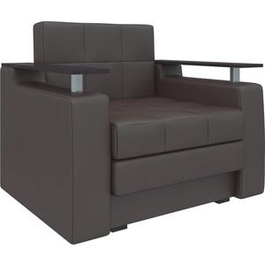 Кресло-кровать АртМебель Комфорт эко-кожа коричневый кресло кровать классика коричневый page 8