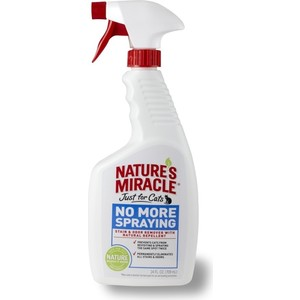 Спрей 8in1 Nature's Miracle No More Spraying антигадин для кошек 710мл