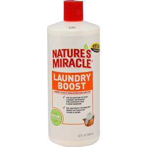 Cредство 8in1 Nature's Miracle Laundry Boost Laundry Stain & Odor Removing Additive для уничтожения пятен, запахов и аллергенов 945мл casio ba 110tp 7a