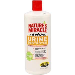 Средство 8in1 Nature's Miracle Urine Destroyer уничтожитель пятен, запахов и осадка от мочи собак 945мл