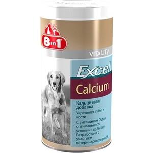 Добавка к пище 8in1 Excel Calcium кальций укрепление зубов и костей для собак 880таб витамины 8 in 1 eu excel brewer's yeast пивные дрожжи для собак крупных пород 80 таб 109525