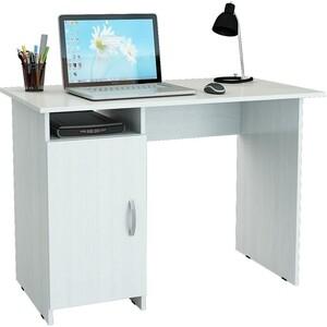 Стол письменный Мастер Милан-8 левый (белый) МСТ-СДМ-08-БТ-16 стол мастер триан 41 правый белый мст уст 41 бт 16 пр