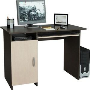 Стол письменный Мастер Милан-8П левый (венге-дуб молочный) МСТ-СДМ-8П-ВД-16
