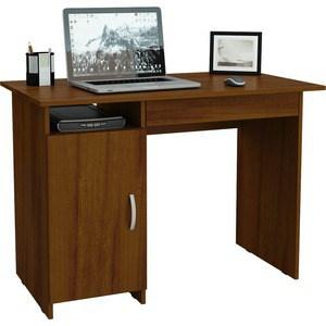 Стол письменный Мастер Милан-8Я левый (орех) МСТ-СДМ-8Я-ОР-16 стол письменный мастер милан 8я левый дуб молочный мст сдм 8я дм 16