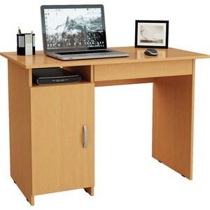 Стол письменный Мастер Милан-8Я левый (бук) МСТ-СДМ-8Я-БК-16 стол письменный мастер милан 8я левый дуб молочный мст сдм 8я дм 16