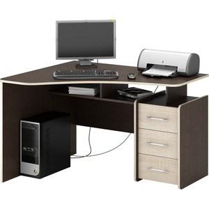 Стол Мастер Триан-5 (венге/дуб сонома) МСТ-УСТ-05-ВМ-ДС-16 стол мастер триан 5 дуб молочный венге мст уст 05 дм вм 16