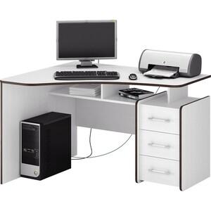 Стол Мастер Триан-5 (белый) МСТ-УСТ-05-БТ-16 стол мастер триан 1 правый белый мст уст 01 бт 16 пр