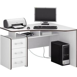 Стол Мастер Триан-5 правый (белый) МСТ-УСТ-05-БТ-16-ПР стол мастер триан 1 правый белый мст уст 01 бт 16 пр