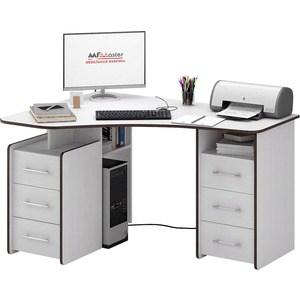 Стол Мастер Триан-6 (белый) МСТ-УСТ-06-БТ-16 стол мастер триан 1 правый белый мст уст 01 бт 16 пр