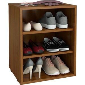 Полка для обуви Мастер Лана-1 (ПОЛ-1П) (орех) МСТ-ПОЛ-1П-ОР-16 тумба для обуви лана пол 2 1с 1п с дверкой