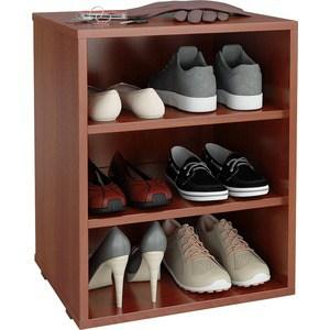 Полка для обуви Мастер Лана-1 (ПОЛ-1П) (орех итальянский) МСТ-ПОЛ-1П-ОИ-16 тумба для обуви лана пол 2 1с 1п с дверкой