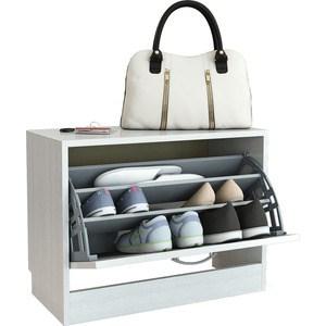 Обувница Мастер Дженни-1 (белый) МСТ-ОДД-01-БТ-16 стол мастер триан 5 правый белый мст уст 05 бт 16 пр