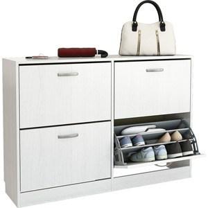 Обувница Мастер Дженни-22 (белый) МСТ-ОДД-22-БТ-16 стол мастер триан 41 белый мст уст 41 бт 16
