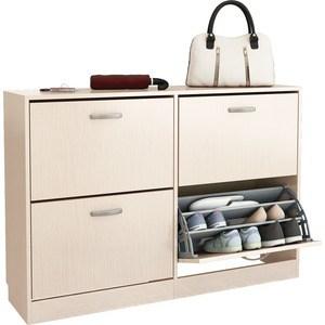 Обувница Мастер Дженни-22 (дуб молочный) МСТ-ОДД-22-ДМ-16 стол мастер триан 41 венге дуб молочный мст уст 41 вм дм 16