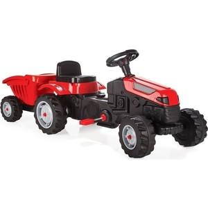 Фотография товара педальный трактор с прицепом Pilsan Active Tractor Красный (07-316) (667152)