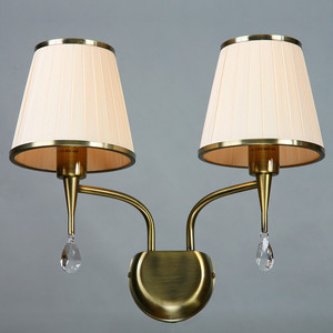 Бра BRIZZI MA 01625W/002 Bronze Cream бра brizzi 1625 ma 01625w 002 chrome