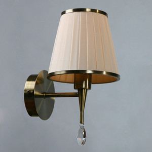 Бра BRIZZI MA 01625W/001 Bronze Cream бра brizzi 1625 ma 01625w 002 chrome