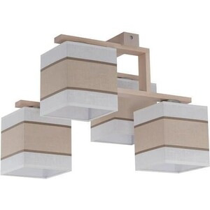 Потолочная люстра TK Lighting 562 Lea white 4 футболка revolution 1571 white lea 2xl