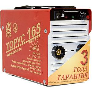 Фотография товара сварочный инвертор Торус 165 Мастер (667612)