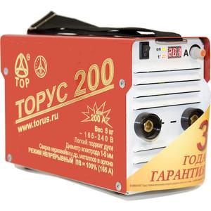 Сварочный инвертор Торус 200 Классик сварочный инвертор торус 200 классик провода