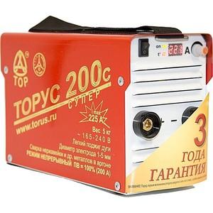 Сварочный инвертор Торус 200с Супер+провода сварочный инвертор торус 200 классик провода