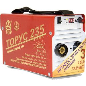 Сварочный инвертор Торус 235 Прима+провода сварочный инвертор торус 200 классик провода
