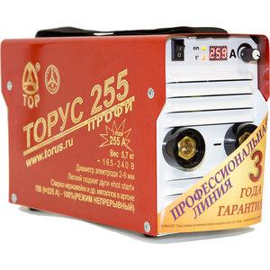 Фотография товара сварочный инвертор Торус 255 Профи+провода (667627)