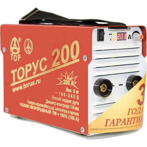 Сварочный инвертор Торус 200 Классик (НАКС) сварочный инвертор торус 200 классик провода