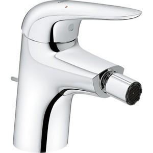 Смеситель для биде Grohe Eurostyle с донным клапаном, хром (23720003)  смеситель для биде grohe bauedge с донным клапаном 23331000