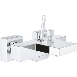 Смеситель для ванны Grohe Eurocube Joy хром (23666000) смеситель для душа коллекция joy f8540000 двухрычажный хром am pm ам пм