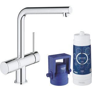 Смеситель для кухни Grohe Blue с функцией фильтрации воды (31345002) цена