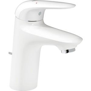 Смеситель для раковины Grohe Eurostyle низкий с донным клапаном, белый (23709LS3) орагайзер для украшений curio низкий белый 1125831
