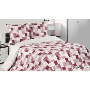 Комплект постельного белья Ecotex 2-х сп, поплин, Бродерик (КПМБродерик) комплект постельного белья ecotex 2 х сп поплин портленд кпмпортленд