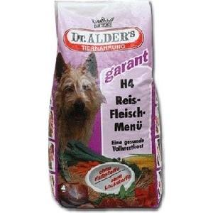 Сухой корм Dr.ALDER's Garant H4 Rice-Meat Menu хлопья с говядиной и рисом для активных собак 5кг (109) garant 67t