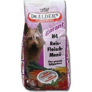 Сухой корм Dr.ALDER's Garant H4 Rice-Meat Menu хлопья с говядиной и рисом для активных собак 15кг (108) корм для птиц vitakraft menu vital для волнистых попугаев основной 1кг