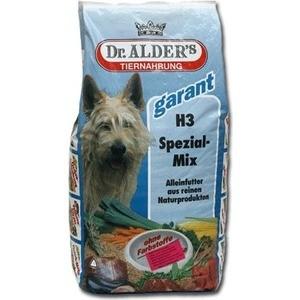 Сухой корм Dr.ALDER's Garant H3 Special-Mix хлопья с мясом и овощами для активных собак 15кг (110)