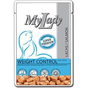 Паучи Dr.ALDER's MyLady Super Premium Weight Control Salmon с лососем для пожилых кошек 85г (400777)