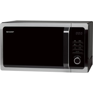 Микроволновая печь Sharp R3852RK микроволновая печь sharp r 2000rw 800 вт белый черный
