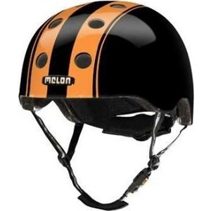 Шлем Melon Double Orange Black Глянцевый XL-XXL (58-63 см) (162203) 2018 fashion yohee double lens motorcycle helmet yh 970 full face motorbike helmets made of abs pc visor lens size m l xl xxl