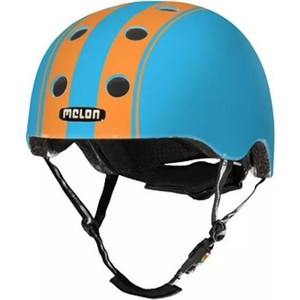 Шлем Melon Double Orange Blue Матовый XL-XXL (58-63 см) (162503) 2018 fashion yohee double lens motorcycle helmet yh 970 full face motorbike helmets made of abs pc visor lens size m l xl xxl
