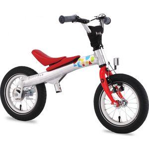 Беговел-велосипед 2 в 1 Rennrad 12'' Красный (230002)