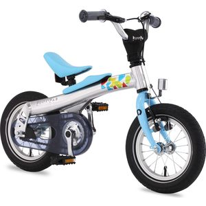 Беговел-велосипед 2 в 1 Rennrad 12'' Синий (230001)