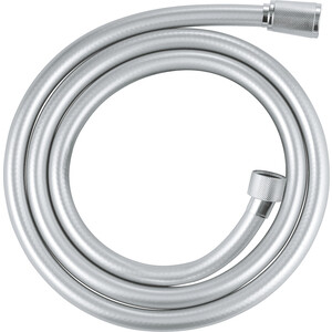 Душевой шланг Grohe Silverflex пластиковый усиленный 1,5 м, хром (26346000) шланг душевой flex цвет хром белый 1 5 м