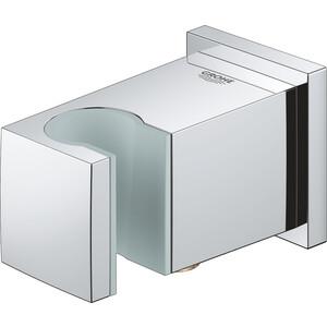 Подключение душевого шланга Grohe Euphoria Cube с держателем ручного душа, хром (26370000) дозатор д жидкого мыла wasser kraft leine хром